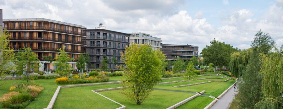 Neues Wohnviertel innerhalb der Bundesgartenschau Heilbronn