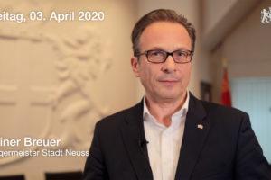 Videobotschaft zur Corona-Krise und zum Ältestenrat