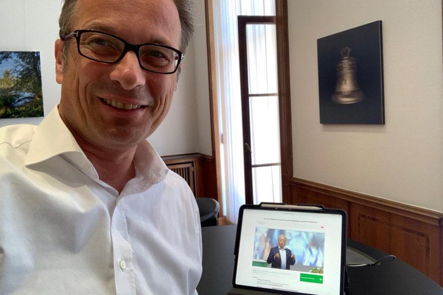 In der ersten virtuellen Mitgliederversammlung des Städtetages NRW wurde ich in dieser Woche als Mitglied des Landesvorstandes bestätigt.